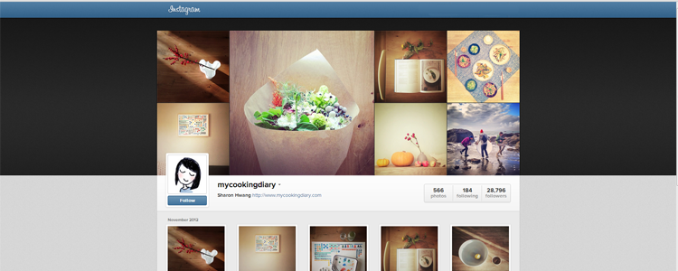 instagram-profile-shot-mycookingdiary | Emprise Media