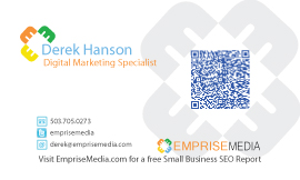 Emprise Media Business Card